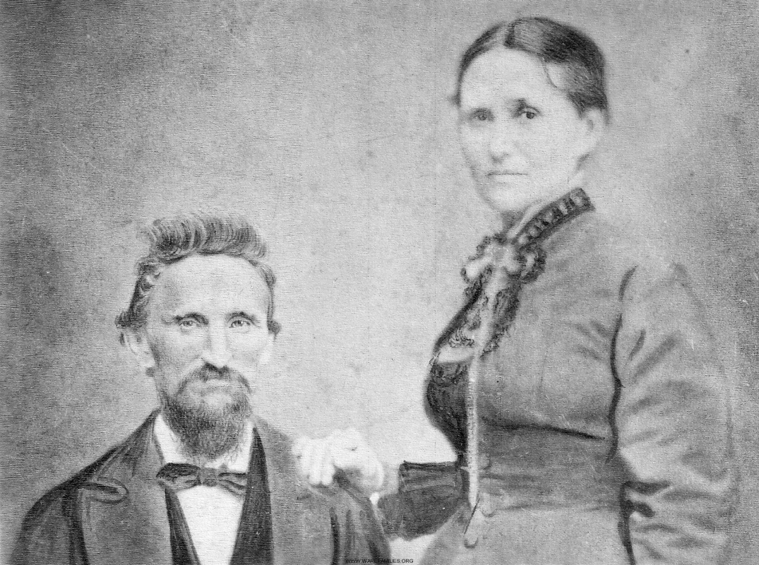 Thomas Edward and Sara E. Lane Ware