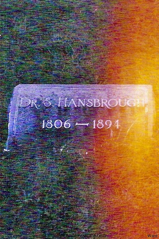 Dr. Hansbrough