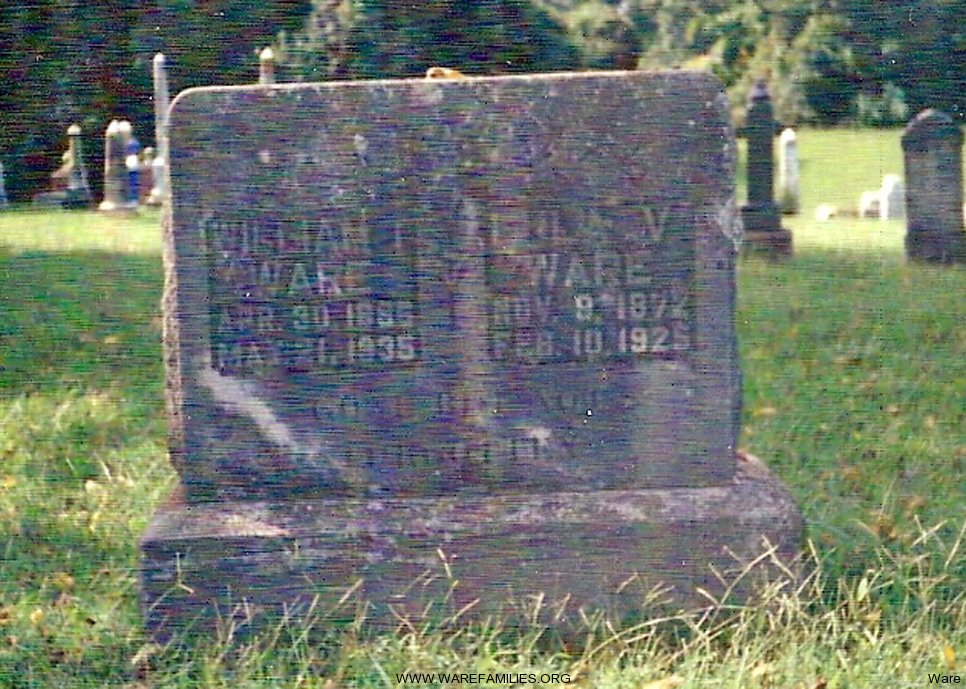 William T. and Lillie V. Ware