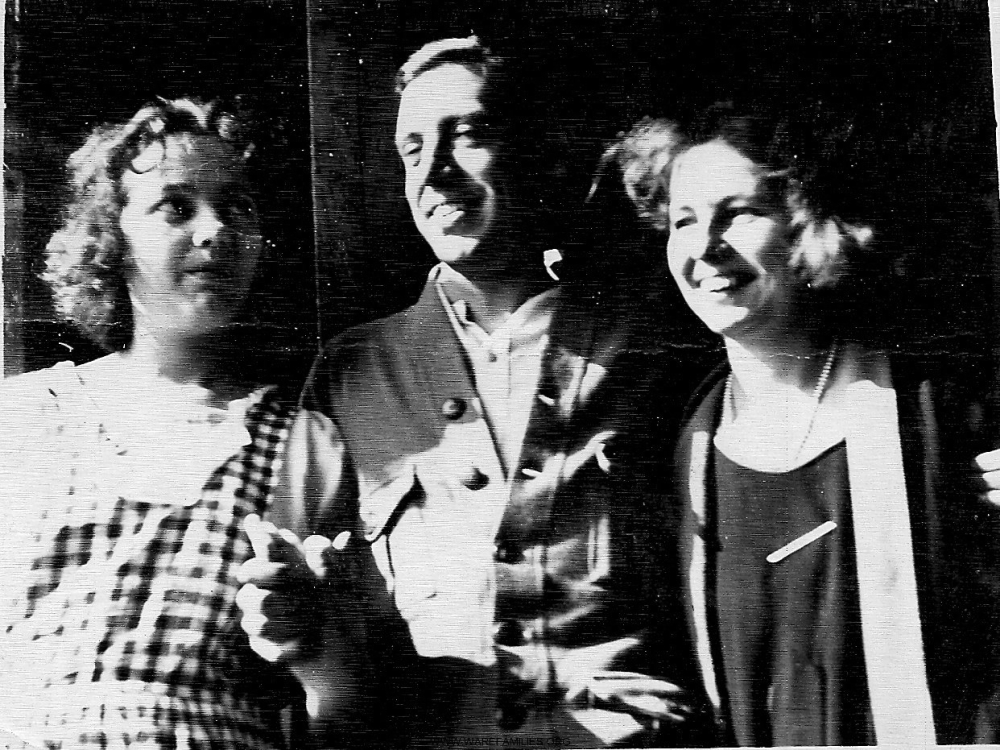 Aileen, Frank and Marguerite Ware