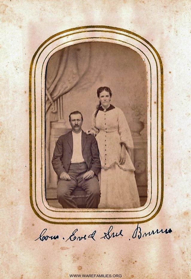 Susan H. Ware & W. Everett Burrus