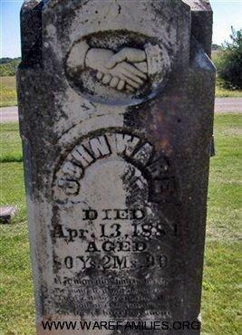 John D. Ware grave