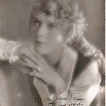 Autographed Mary Pickford photo