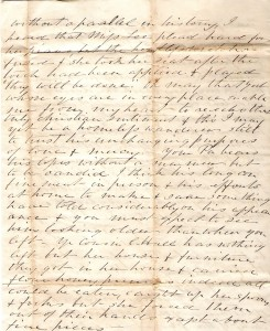 Original letter from Edmonia Ware to Elizabeth Ware Britton 1864 - pg.4