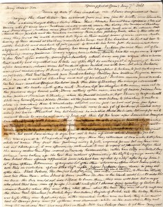 Original 1-7-1863 Josiah LTR to James (1)