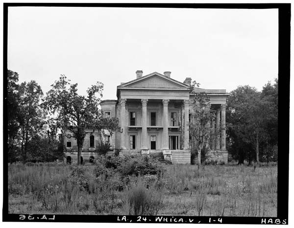 belle grove plantation, louisiana and the ware families who owned it